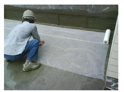 外墙防水涂料施工程序