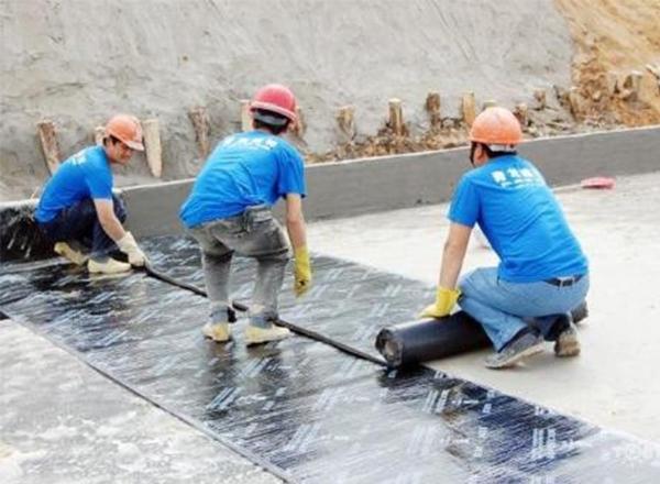 防水卷材施工步骤